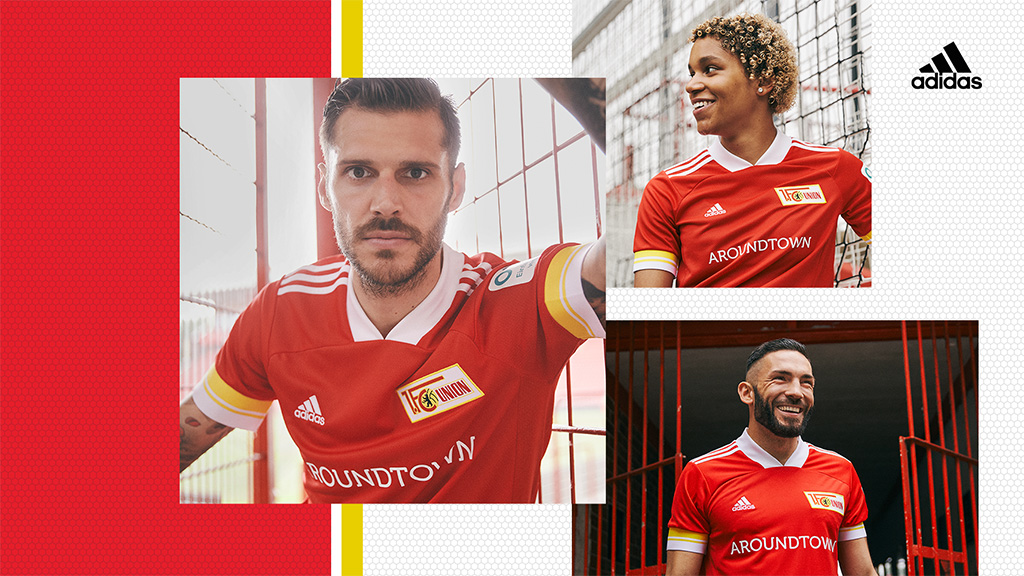 Union And Adidas Present New Home Kit Club 1 Fc Union Berlin